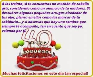 Felicitaciones por tus 40º cumpleaños Frases de cumpleaños