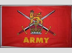 BRITISH ARMY 8 X 5 FLAG