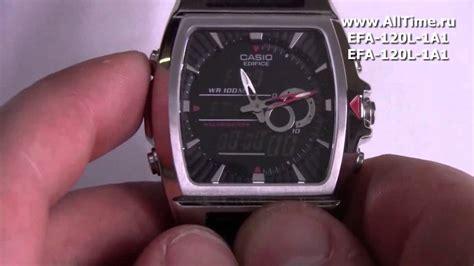 Обзор Мужские наручные часы Casio Edifice Efa120l1a1
