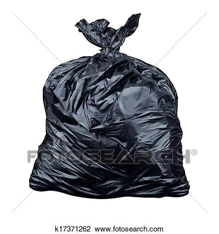 stock photo  garbage bag  search stock
