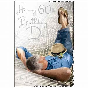 Dad 60th Birthday Card - Karenza Paperie