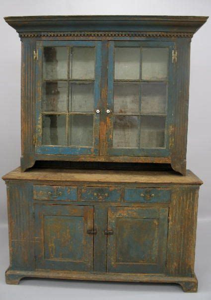 Olde Country Cupboard by Painted Country Chippendale Cupboard Pennsylvania Pine