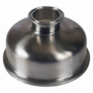 Silicone Chemical Resistance Chart Tri Clamp Bowl Reducer 6 Inch X 2