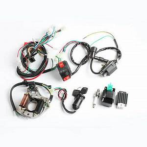108 Wiring Harness For Atv : 50cc 110cc cdi wire harness stator assembly wiring kit ~ A.2002-acura-tl-radio.info Haus und Dekorationen