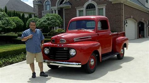 1950 ford f1 pickup classic muscle car for sale in mi vanguard motor sales youtube