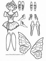 Puppet Coloring Fairy Paper Pheemcfaddell Puppets Printable Colouring Adult Crafts Template Marionette Sheets Dolls Cut Halloween Phee Mcfaddell Templates Getcolorings sketch template