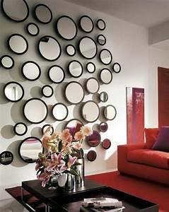 Miroir Mural Design Grande Taille : le grand miroir mural 25 id es pour d 39 arrangement et d coration ~ Teatrodelosmanantiales.com Idées de Décoration