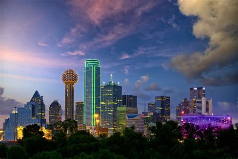 dallas skyscraper wall mural texas skyline wallpaper