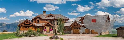 home building plans wyoming log and timber frame homes by precisioncraft