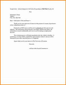 example expression of interest letter for a job With letter of interest template for a job