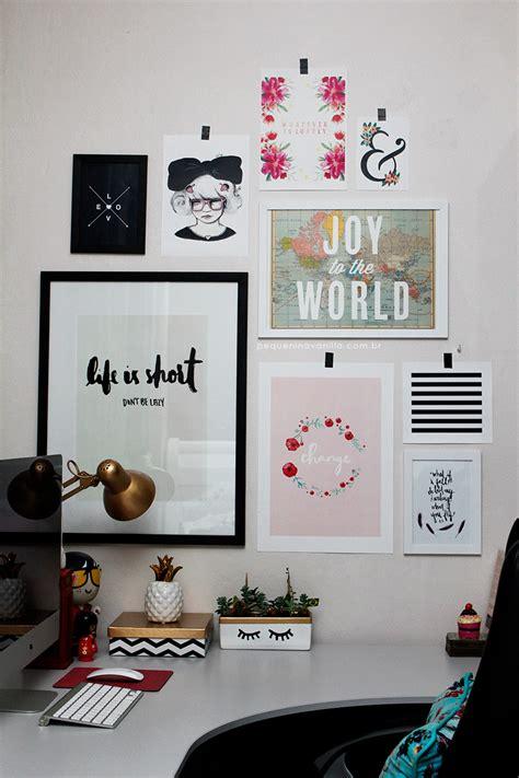 como fazer uma gallery wall com posters e imagens inspiradoras pequenina vanilla