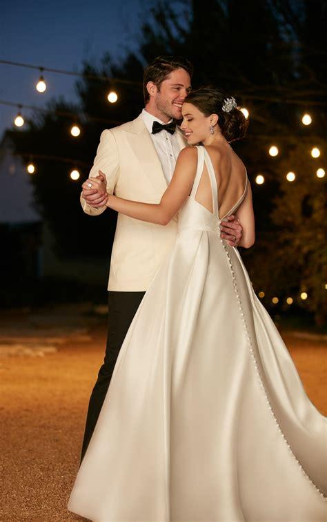 wedding dress  hidden pockets martina liana