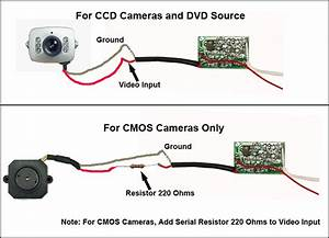 Incosky Ir Color Cmos Camera Wiring Diagram