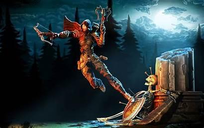 Dark Warrior Fantasy Rpg Diablo Action Dungeon