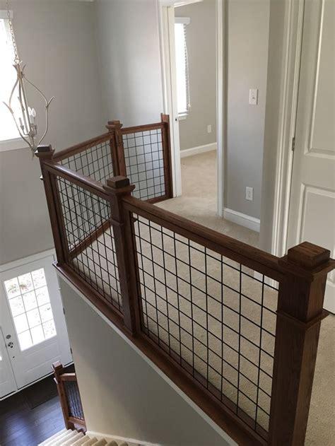 hogwire railing interior railings deck railing ideas