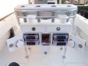 Center Console Boat Storage Ideas