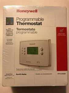 Honeywell Digital Manual Thermostat Heating And Air