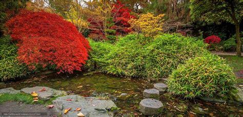 Japanischer Garten Im Herbst by Hintergrund Japanischer Garten Calderstones Park