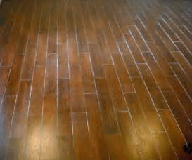 family room wood tile floor jersey custom tile