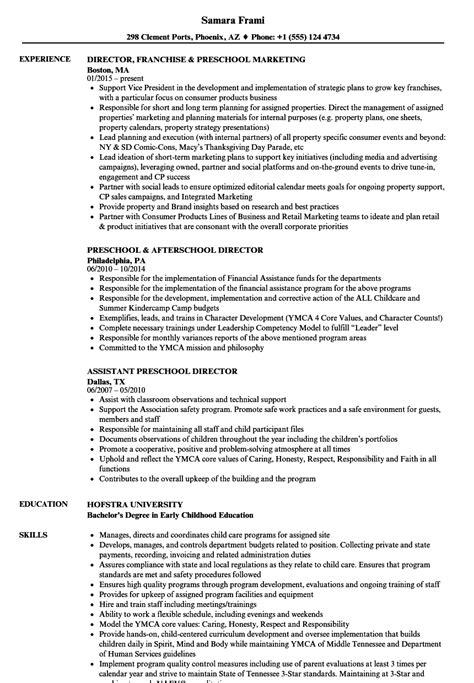 preschool director resume samples velvet 875 | preschool director resume sample