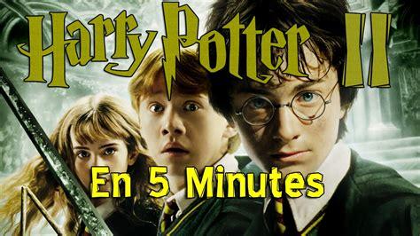 la chambre des secret harry potter et la chambre des secrets en 5 min
