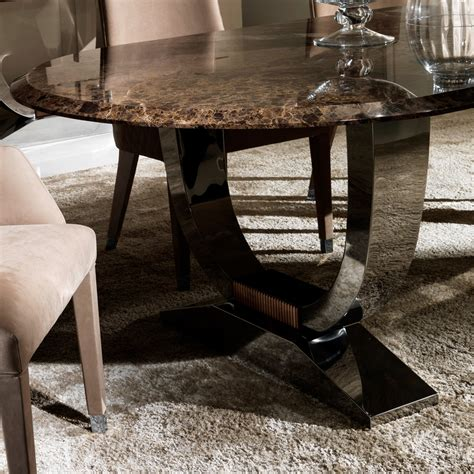 oval high  marble italian dining table set juliettes