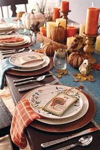 Thanksgiving, Table, Decor, Ideas