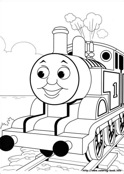 thomas  train blank coloring pages   grade