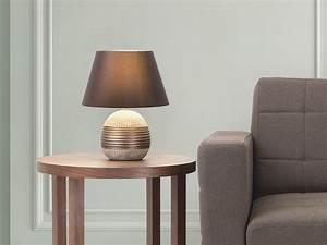 Abat Jour Chambre : lampe poser lampe de salon de chevet de bureau bronze sado ~ Teatrodelosmanantiales.com Idées de Décoration