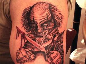 evil clown – Tattoo Picture at CheckoutMyInk.com