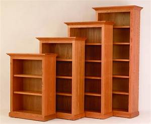 Solid Wood Bookcases at DutchCrafters