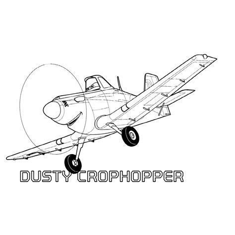 Kleurplaten Planes 2 Printen by Leuk Voor Dusty Crophopper