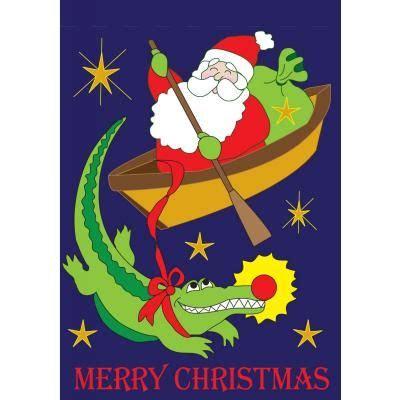 cajun christmas yard decor cajun garden house flags crafts december holidays