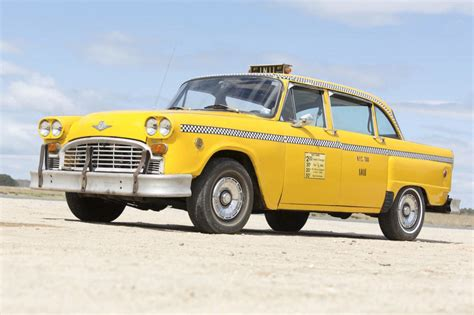 The Last New York Checker Taxi