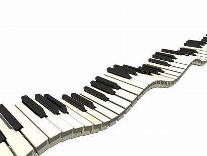 Piano Cartoon Notes Clipart Clip Grand Woman