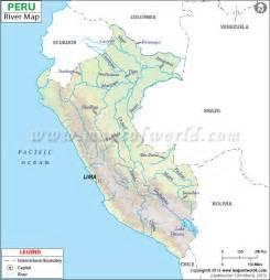 Peru Rivers Map