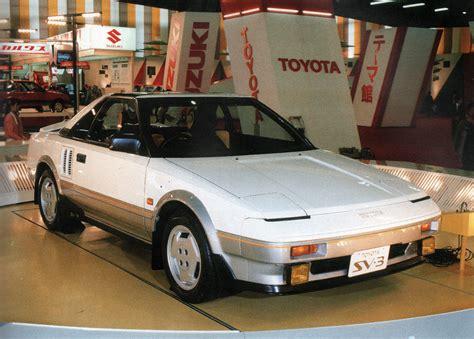1983 Toyota SV-3 - Concepts