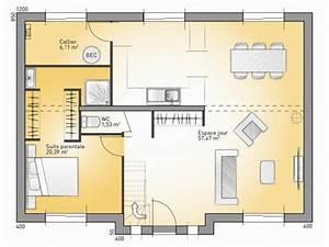 plans de maison rdc du modele city maison moderne a With attractive plan de maison 2 etage 0 maison familale detail du plan de maison familale