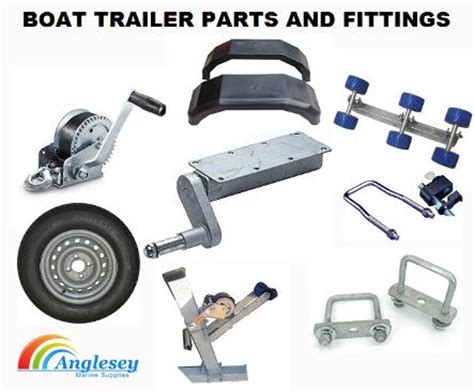 Boat Trailer Components by Boat Trailer Rollers Boat Trailer Parts Bunks