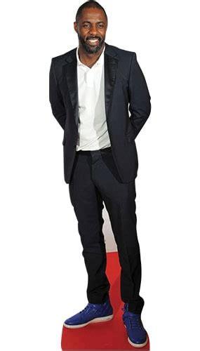 Idris Elba Lifesize Cardboard Cutout - 189cm   Partyrama