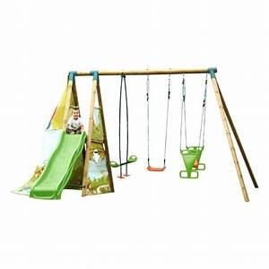 Pieces Detachees Balancoire Soulet : portique bois avec toboggan soldes abri de jardin et ~ Melissatoandfro.com Idées de Décoration
