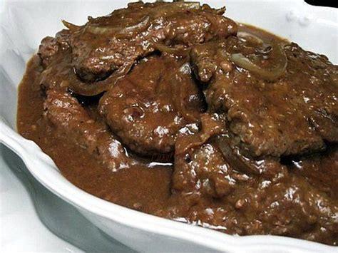 Crock Pot Cube Steak and Gravy Recipe