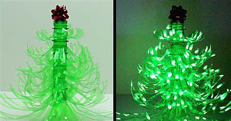 diy plastic bottle christmas tree luminary