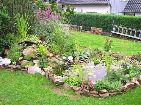 Teich Für Kleinen Garten by Kleiner Gartenteich Anlegen Bilder