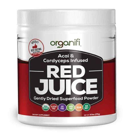 organifi red juice organifi daniel fast superfood