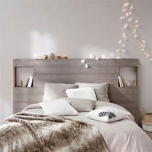 Deco Chambre Bois : idee deco cosy avec 26 decoration chambre tete de lit 5 idees tte de lit en bois de idees et ~ Melissatoandfro.com Idées de Décoration
