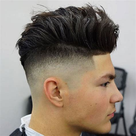 undercut fade haircuts hairstyles  men  guide