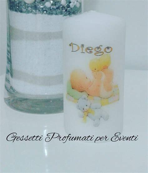 candela bomboniera bomboniera candela battesimo feste bomboniere di