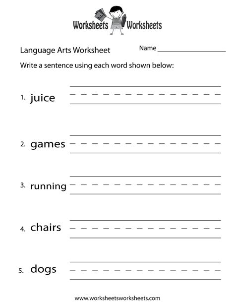 grade easter language arts worksheets
