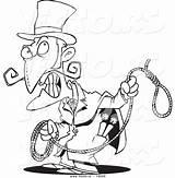 Noose Coloring Clipart Person Evil Cartoon Clipartmag Panda sketch template